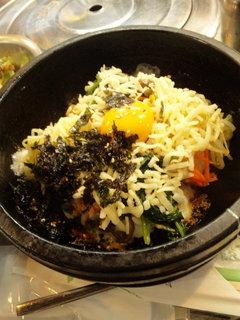 チーズ石焼ビビンパ定食
