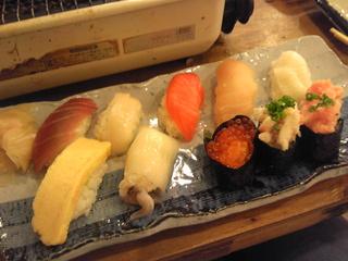 おまかせ寿司10貫