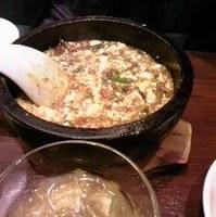 頂天石焼麻婆豆腐定食
