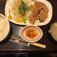 豚のヒレ唐揚げ定食