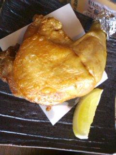 旨塩鶏のパリパリ揚げ
