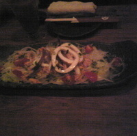 イカリングのカラマリサラダ