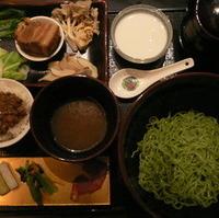 クロレラ入り中華つけ麺