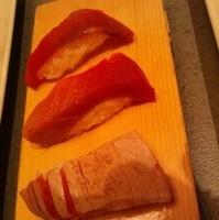 まぐろ寿司味くらべ