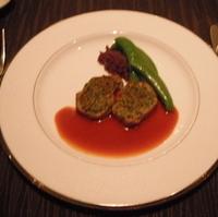 四元豚フィレ肉のソテー 香草パン粉焼き