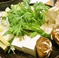 すきやき野菜盛り合わせ
