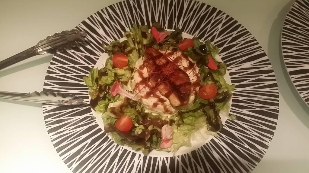 フォアグラとポテトサラダ