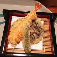 天ざるの天ぷら