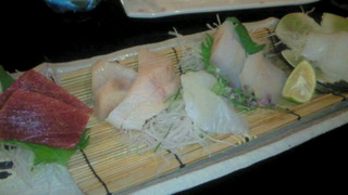 料理長おまかせ地魚刺身5点盛り