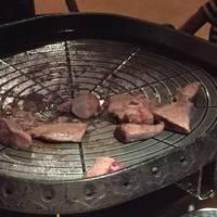 豚レバー炙り焼き