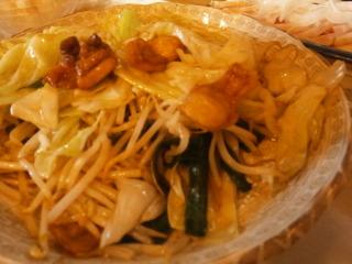 親皮野菜炒め