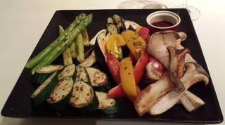焼き野菜のお任せ5種盛り