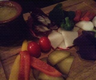 東金産こだわり有機野菜のバーニャカウダ