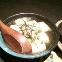 餅いり揚げ出し豆腐