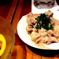 亀岡牛A5ランクのホルモンぽん酢