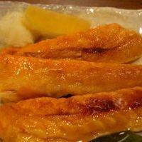 鮭ハラスの塩焼き