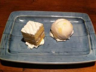 だべさケーキ&季節のシャーベット