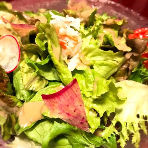 カニのサラダ