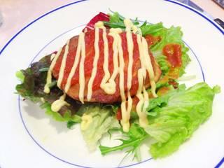 白身魚とじゃが芋のガレット