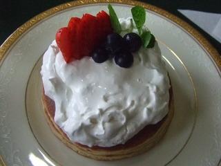 レアチーズホットケーキ