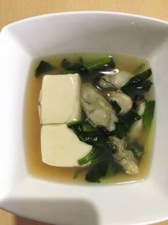 牡蠣の治部煮