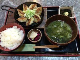 海鮮餃子定食