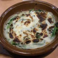 ほうれん草のオーブン焼(フィレンツェ風)