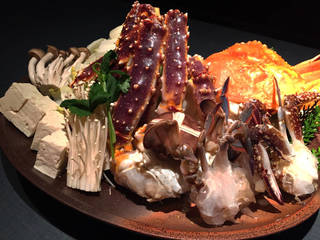 北海カニ鍋