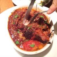 豚バラ肉と豆のトマト煮込み