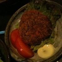 紅芋のコロッケ