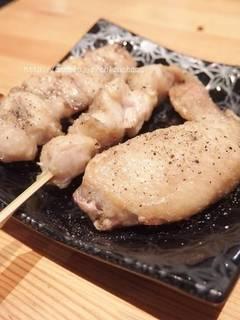 鶏もも・鶏皮・レバー・砂肝・タン・上タン・ハツ・ハツもと・ひざ軟骨