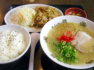 焼肉(生姜焼き)定食
