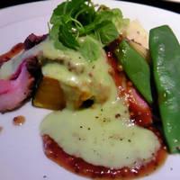 Un cours du dejeuner贅沢ランチ
