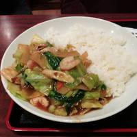 海老五目野菜丼
