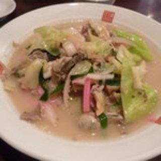 牡蠣チャンポン