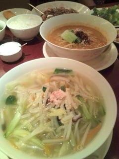 野菜たっぷりスープそばセット