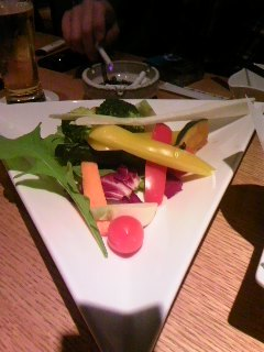 野菜をたくさん食べましょう!