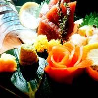 鮮魚のお造り三点