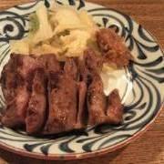 仙台牛タン焼き