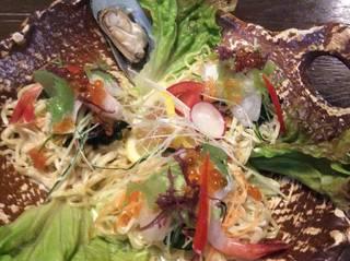 海鮮ラーメンサラダ