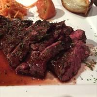 牛肉のハラミステーキ赤ワインソース