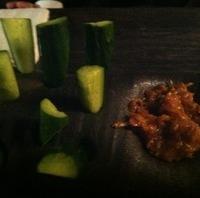 肉味噌きゅうり