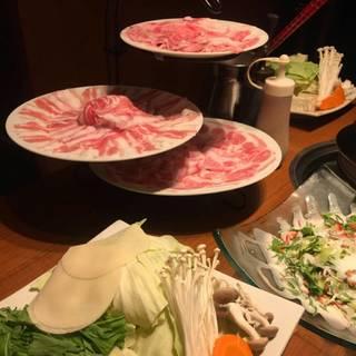 A5佐賀牛と加藤ポークの食べ比べコース