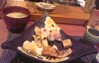 いきだね寿司ランチ