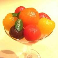 冷やしメープルトマト