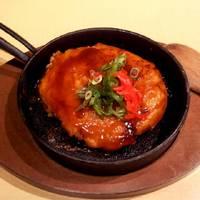 大和芋のふわふわお好み焼き