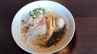 冷やし鯛ラーメン(塩)<夏季限定メニュー>