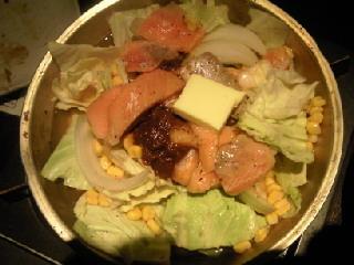 鮭切落しチャンチャン焼き