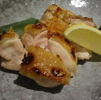 いわい鶏の岩塩焼き