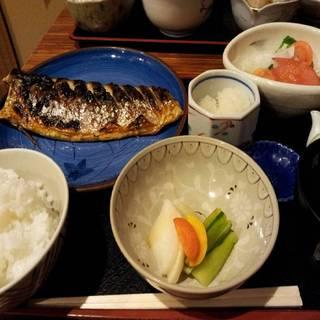 鯖の塩焼きランチ